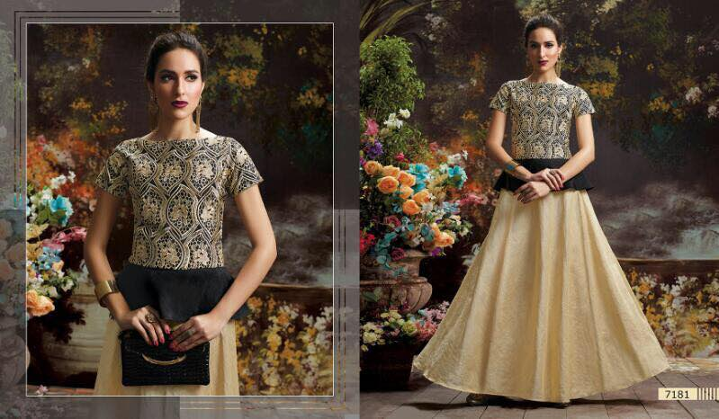 Blush Vol 12 – New Designer Stitched Printed Gown