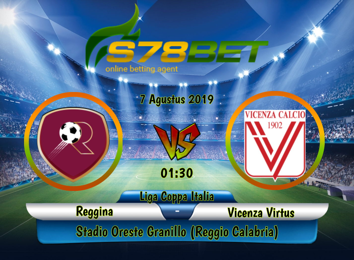 Prediksi Skor Reggina vs Vicenza Virtus 7 Agustus 2019 ...