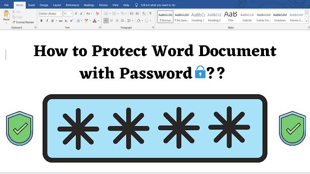 Word_File_par_Password_Kaise_lagaye