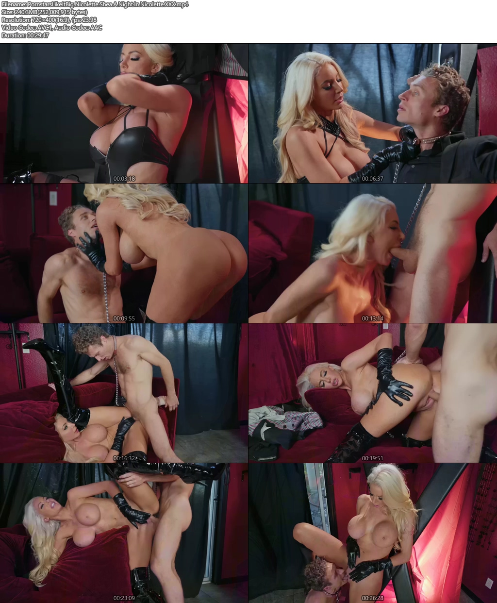 [18+] PornstarsLikeItBig Nicolette Shea Porn Video A Night In Nicolette XXX Screenshot