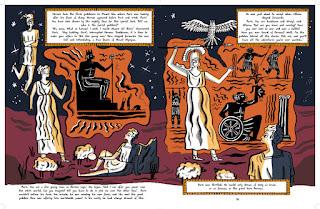 Este cómic nos permite disfrutar de los errores y aciertos de la diosa Atenea