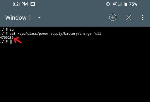 Cek kesehatan baterai pakai Terminal Emulator