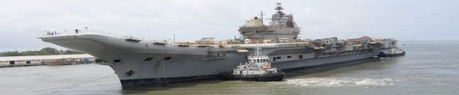 Defence Minister Rajnath Singh To Visit Cochin Shipyard On June 25 To Review Progress of Indigenous Aircraft Carrier