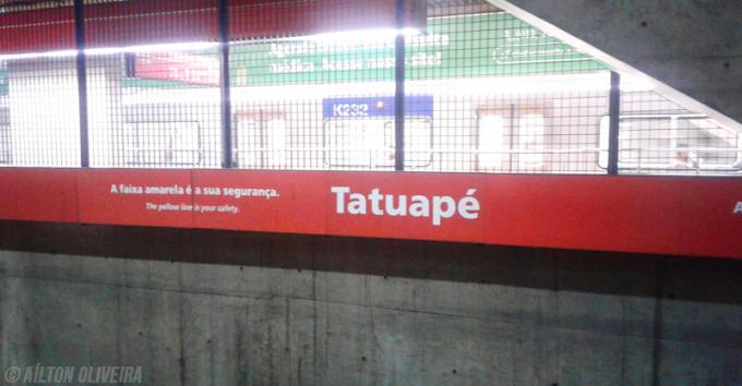 Estação Tatuapé da CPTM recebe borrachões para reduzir o vão entre o trem e a plataforma; confira