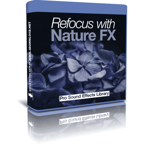 Pro Sound Effects Library - Refocus with Nature FX WAV