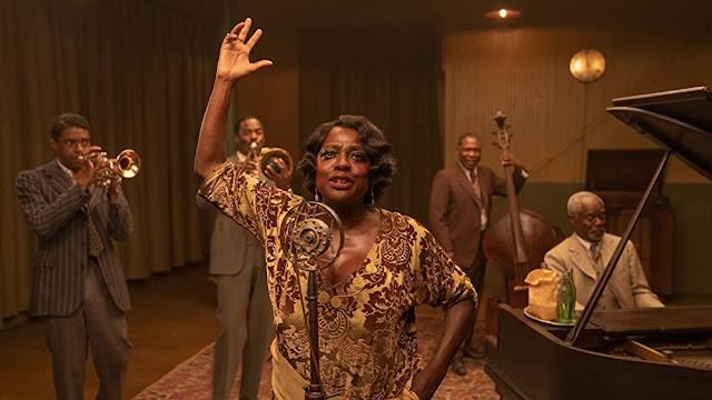 Chadwick Boseman y Viola Davis. Foto de Netflix.