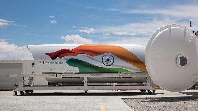 India marca una nueva era del transporte aprobando un proyecto de Hyperloop por 10.000 millones de dólares