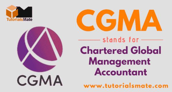 CGMA Full Form