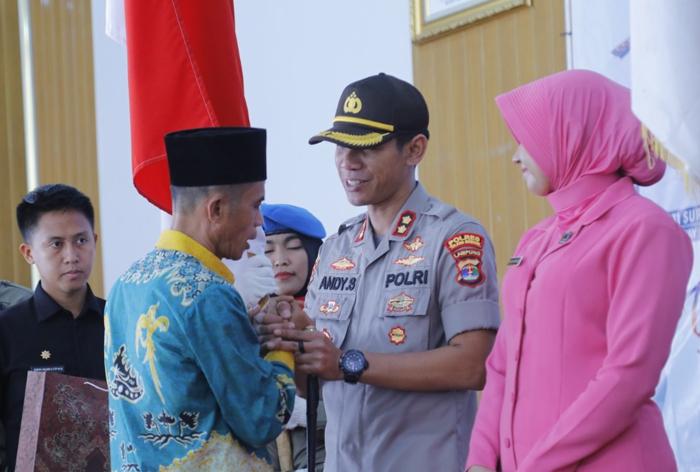 Ketua DPRD Waykanan Harapkan Kapolres Baru Tegas Dalam Penindakan Hukum