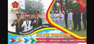 Panduan dan Syarat Rekrutmen Calon Perwira Prajurit Karir TNI 2019