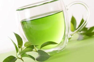 O ceasca de ceai verde