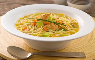 Chicken Soup with Vermicelli (Sehriyeli Tavuk Corbasi)