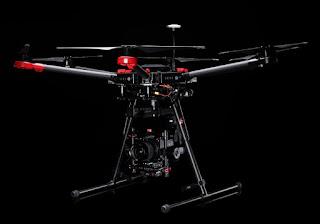 Дрон DJI Matrice M600 с камерой Hasselblad A5D Aerial