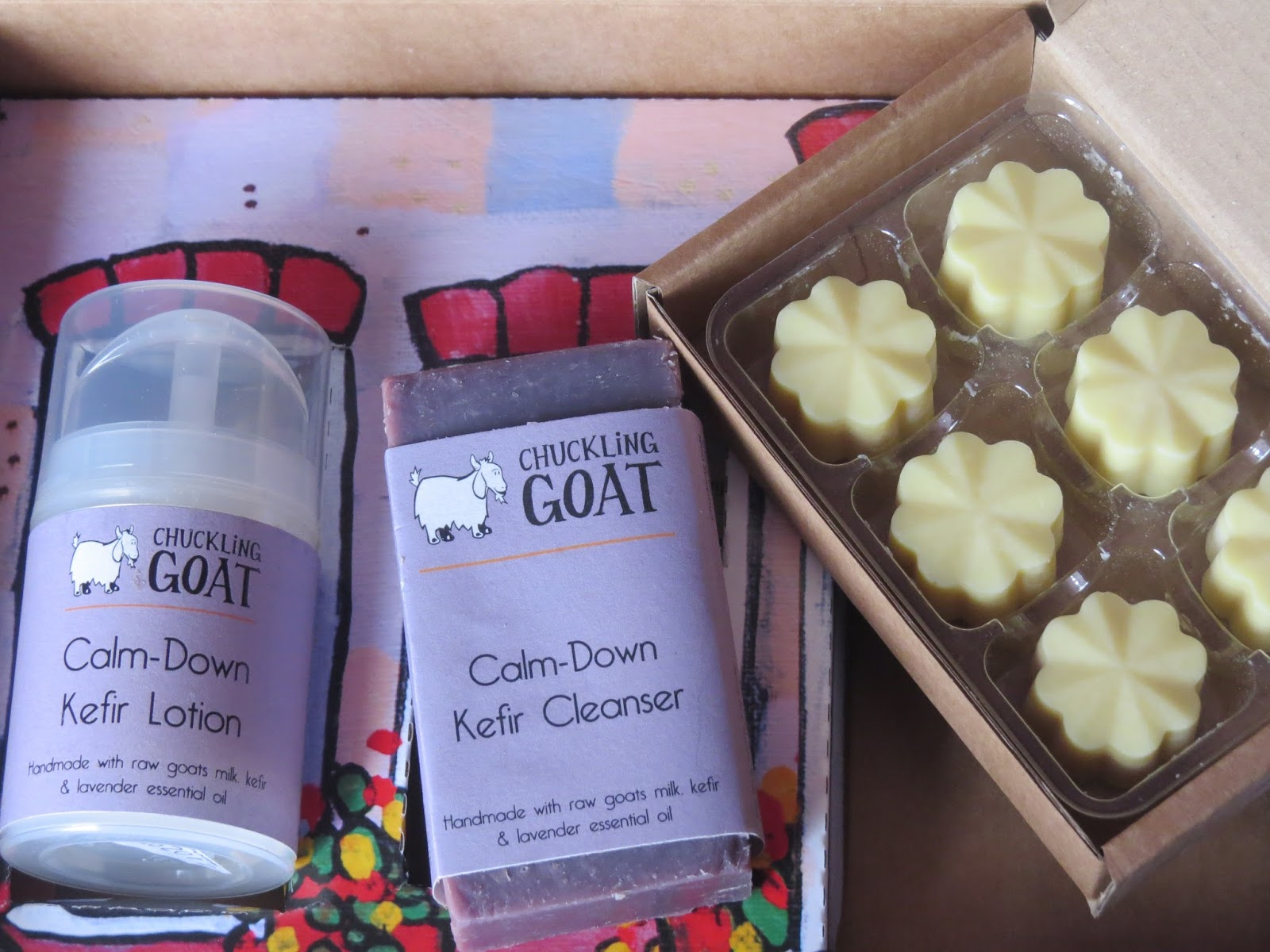 Beauty Chuckling Goat Calm Down Kefir Toolkit Lotion The Award Winning Is Also Used To Make Handmade Natural Products Which Are Suitable For All Skin Types And Those Who Suffer From Eczema