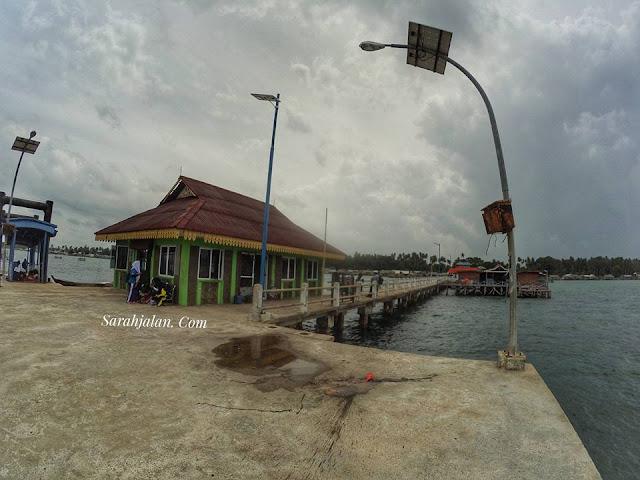 Dermaga Pulau Benan