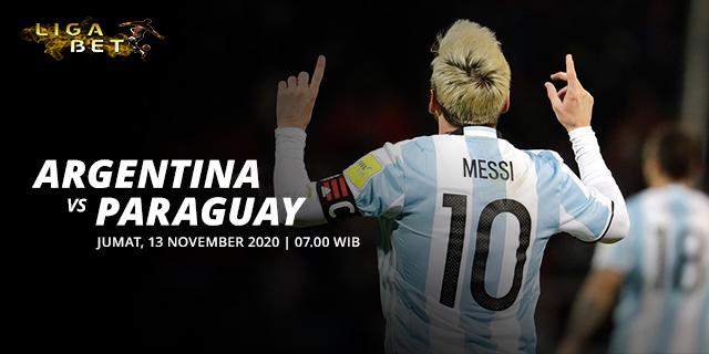 PREDIKSI PARLAY ARGENTINA VS PARAGUAY JUMAT, 13 NOVEMBER 2020