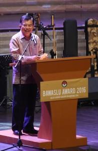 Jusuf Kalla Menghadiri Bawaslu Awards