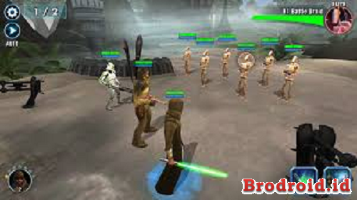 Download Game Star Wars Galaxy of Heroes v0.8.208604 (God Mode)