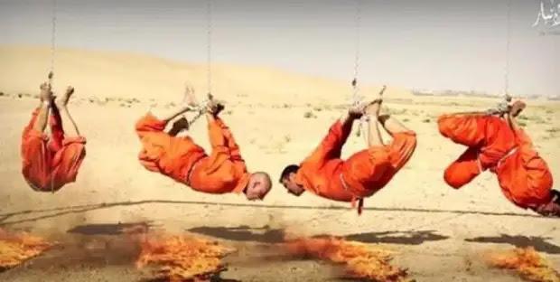 Жестокая казнь двух мужчин-геев боевиками ИГИЛ шокировала весь мир