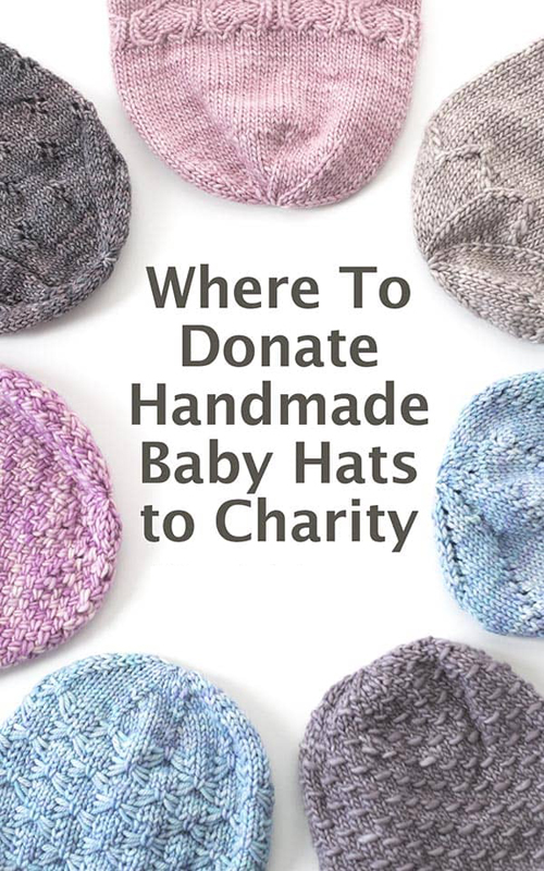 Where to Donate Baby Hats to Charity