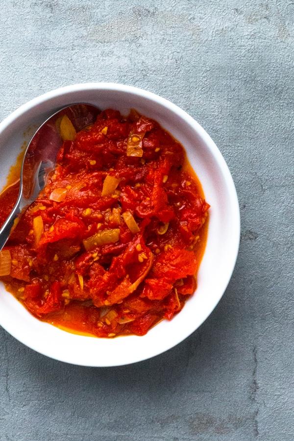 Sos z pieczonych pomidorów