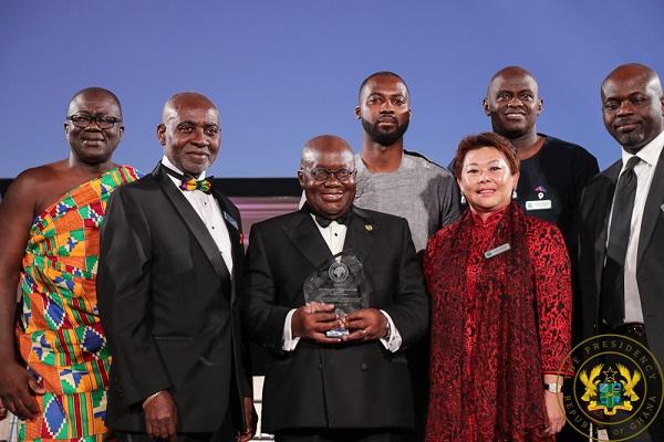 President Akufo-Addo Receives 2019 FOCOS Humanitarian Award