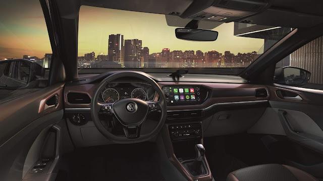 VW T-Cross 200 TSI Automático Comfortline - interior