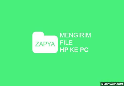Transfer file dari HP ke PC