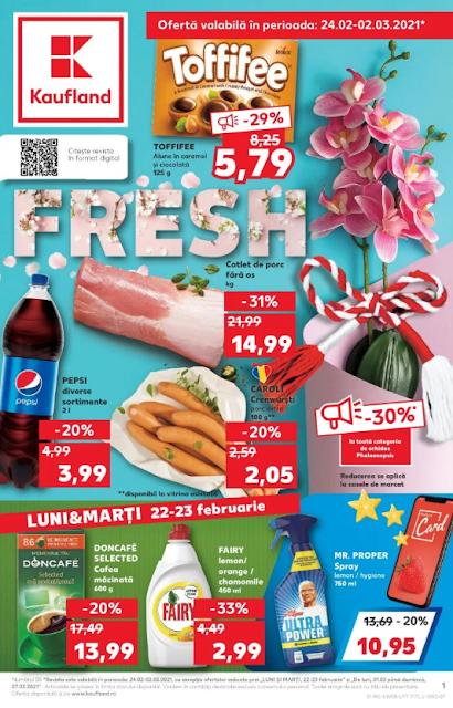 Kaufland Promotii + Catalog-Brosura 24.02 - 02.03 2021
