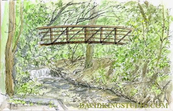 art sketch pen watercolor plein air hidden hollow sugarhouse