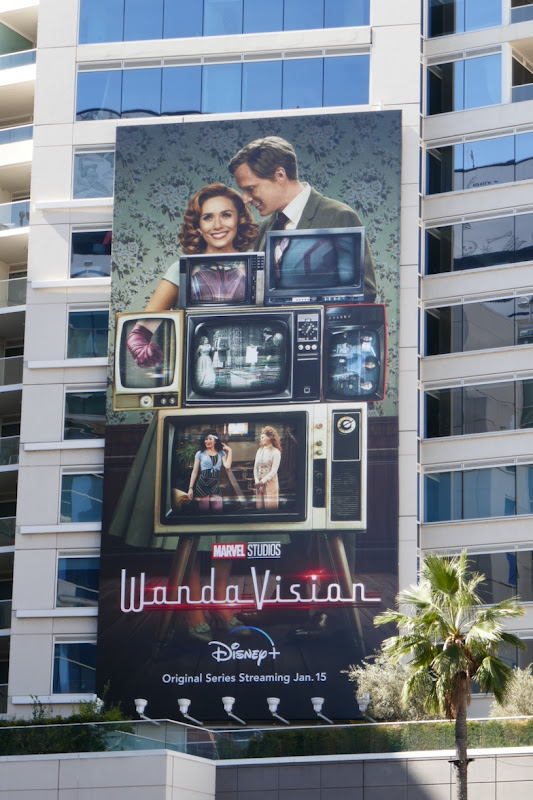 WandaVision billboard