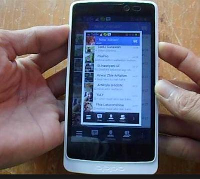 Cara Mengambil Screenshot di Oppo Find X