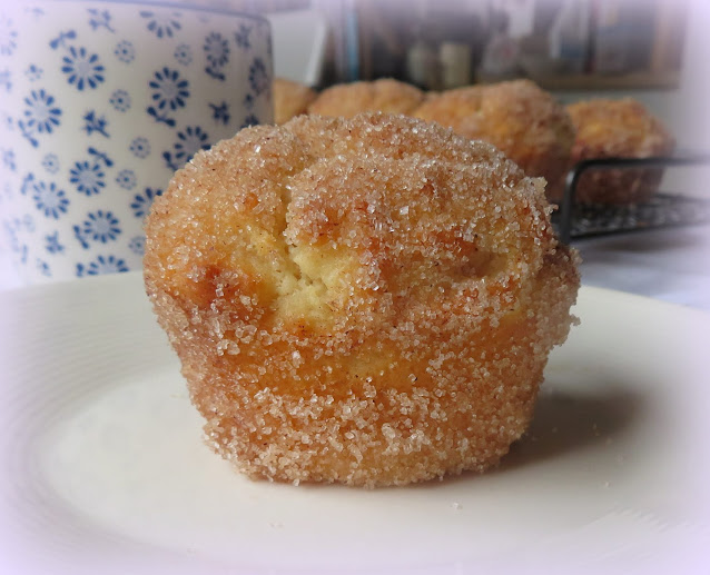 Sugar Jam Muffins