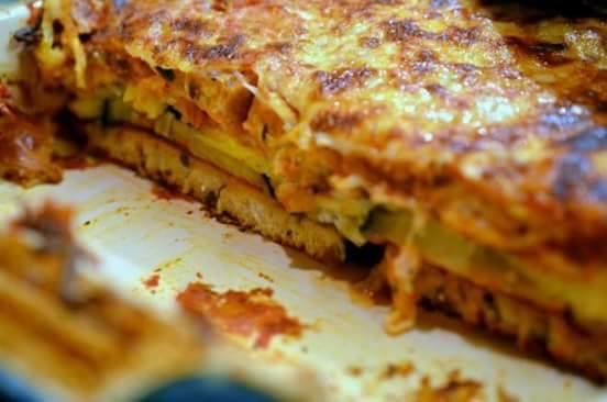 Resepi Lasagna Roti Sedap Dan Ringkas