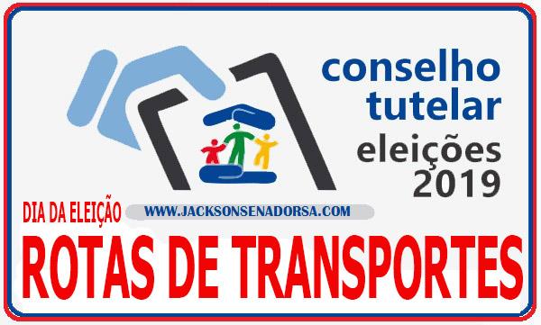 Eleições Conselho Tutelar: Rotas de transportes para o dia das eleições. Confira!