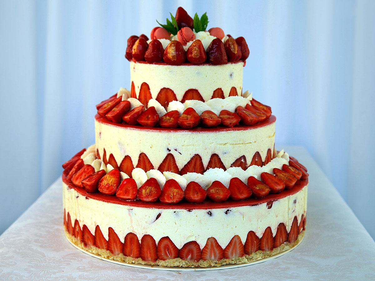 Wedding Cake Confiture De Lait