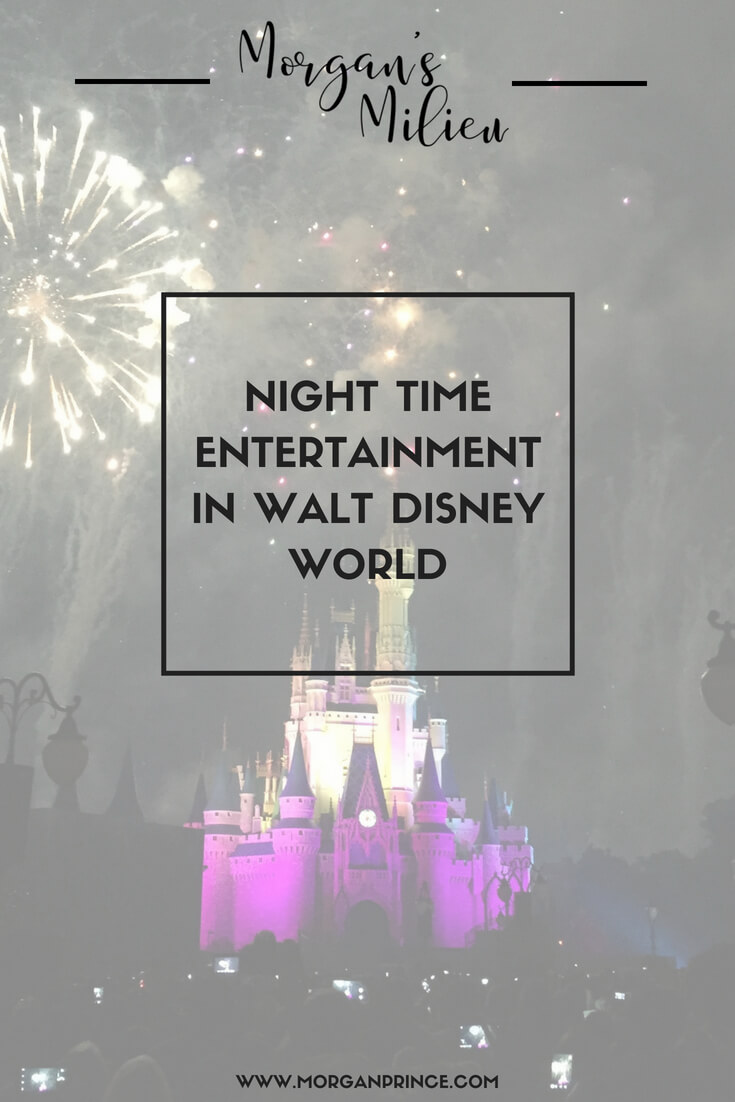 You can find great night time entertainment in Walt Disney World, even with the children!