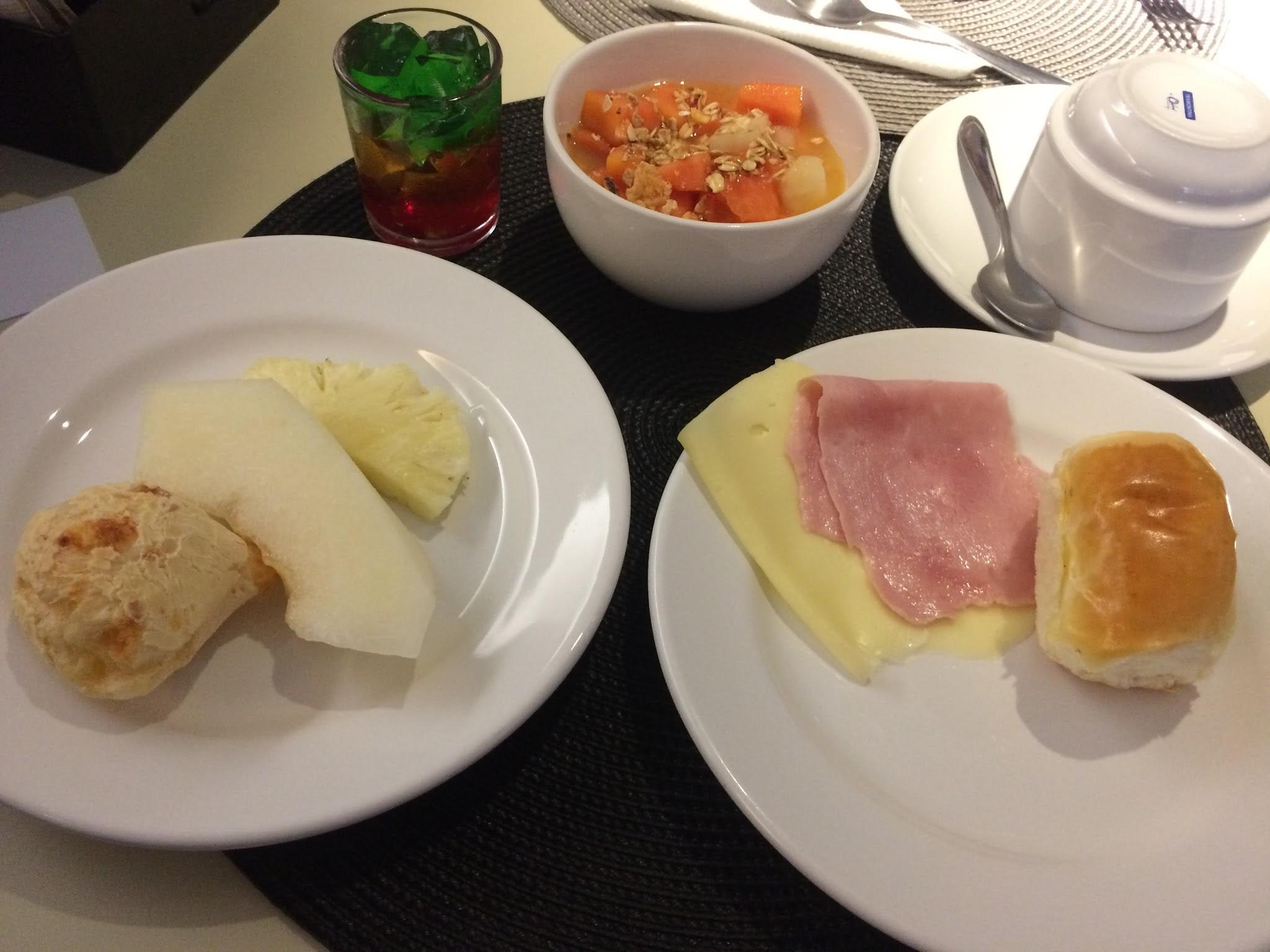 café da manhã no Bê Hotel São Paulo