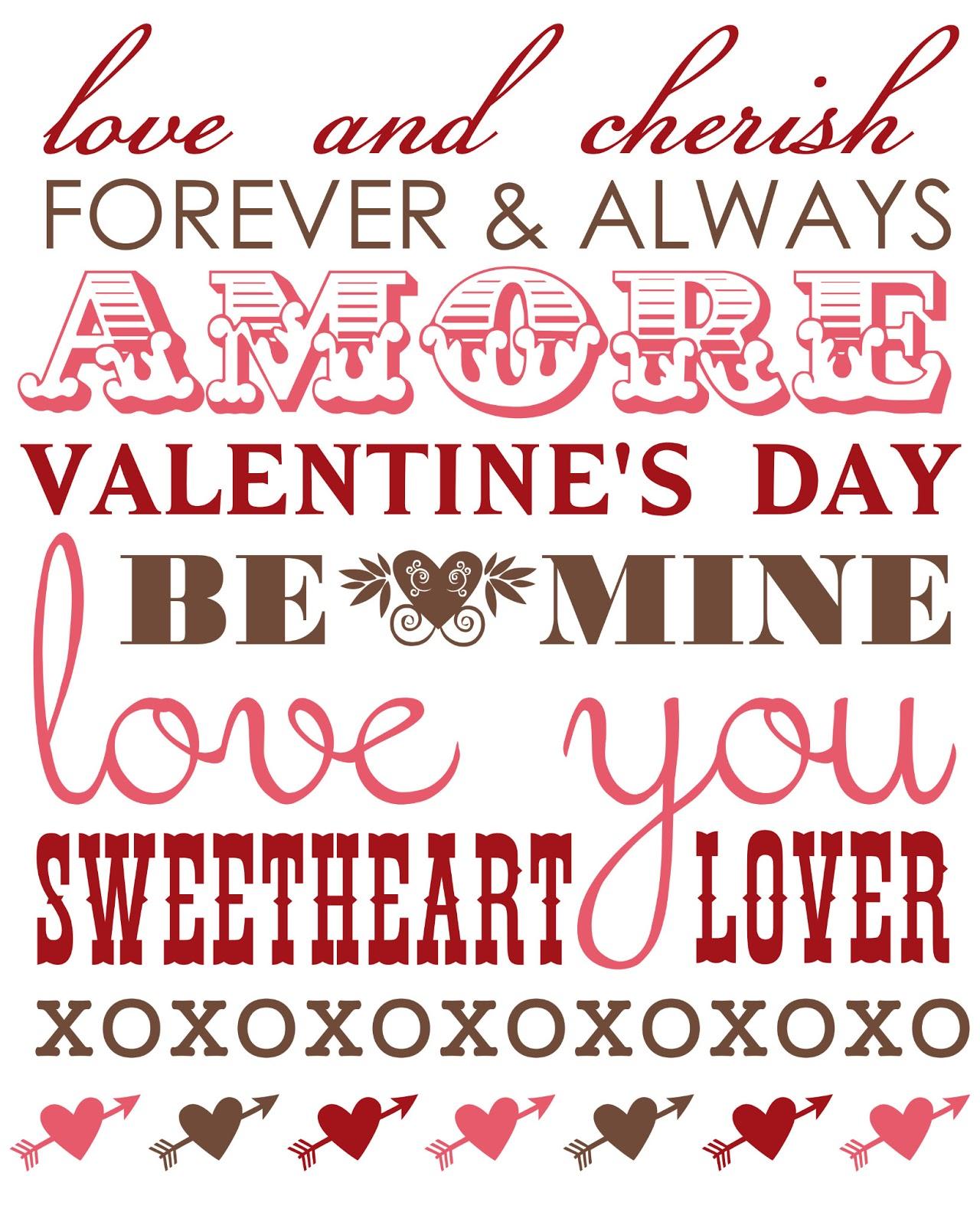 Rantin Amp Ravin Valentine Printables