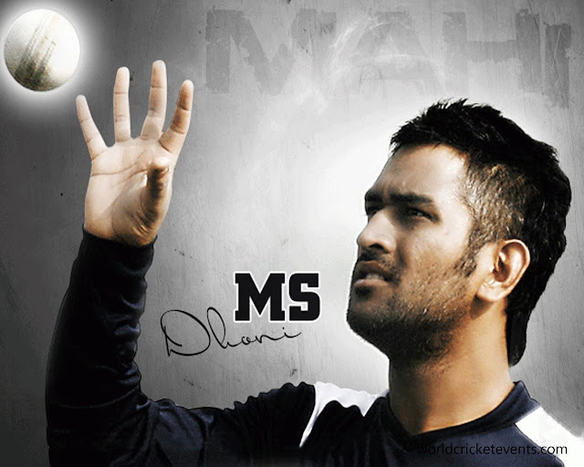 Indian Cricketer Mahendra Singh Dhoni HD Wallpapers