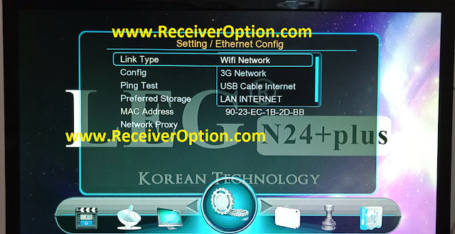 LEG N24 PLUS 1507G 1G 8M NEW SOFTWARE WITH ECAST & G SHARE PLUS OPTION