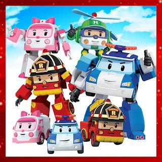 Robocar Poli Robot Transform Car Toy Transformers Deformation Robocar Series