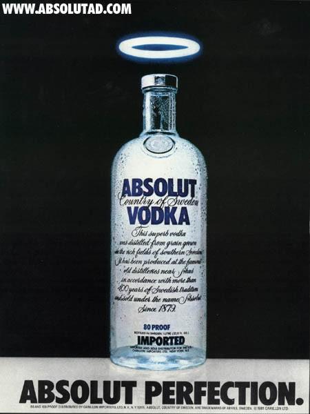 Único pendientes de botella de vodka Absolut Rusia ruso espíritu en miniatura hechas a mano