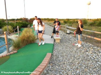 Sunset Beach Mini Golf in Cape May New Jersey