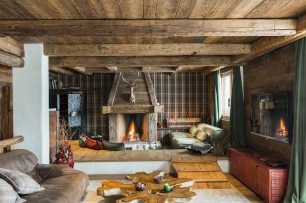 To Da Loos Amazing Ski Cabin Bathroom Mosaics