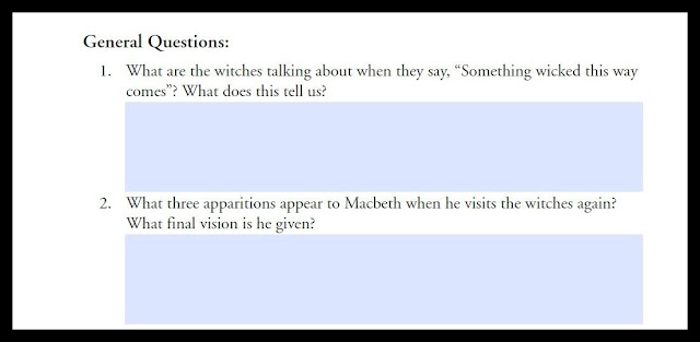 High School Literature: Review of Macbeth E-Guide from Progeny Press