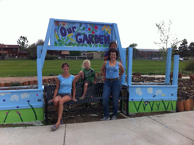 painted+garden+fence - School Garden Program: Kindness Matters