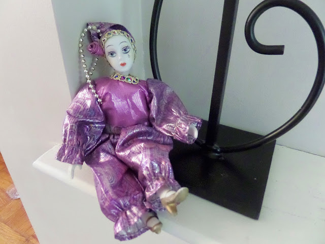purple pierott doll