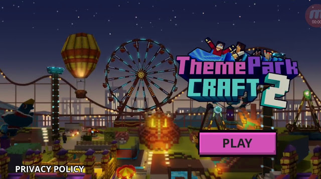 Theme Park Craft Games