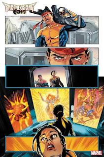 Marvel muestra las primas páginas de Phoenix Song: Echo #1